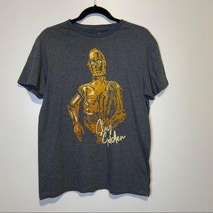 "Star Wars ""Stay Golden"" T-shirt size Medium"